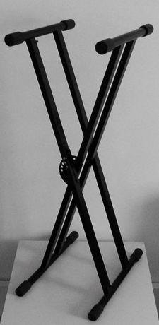 Stojak Statyw pod Instrument klawiszowy podwójny wzmocniony ATHLETIC