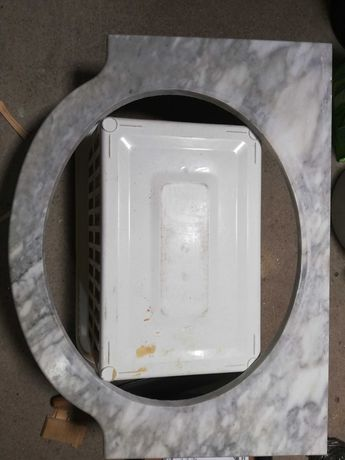 Pedra mármore para móvel wc