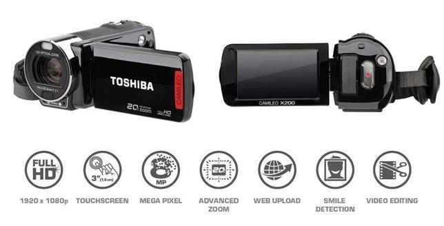 Toshiba Camileo X200 + Medion