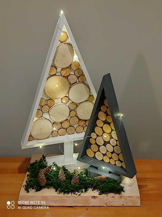 Ozdoby świąteczne***DIY***ozdoby z drewna Poznań - image 1