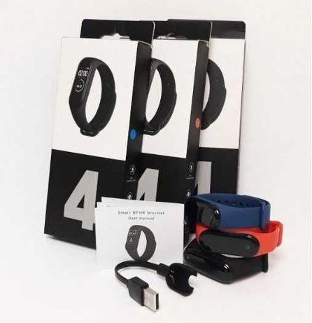 Фитнес-часы М4, смарт браслет smart watch, аналог mi band 4, треккер,
