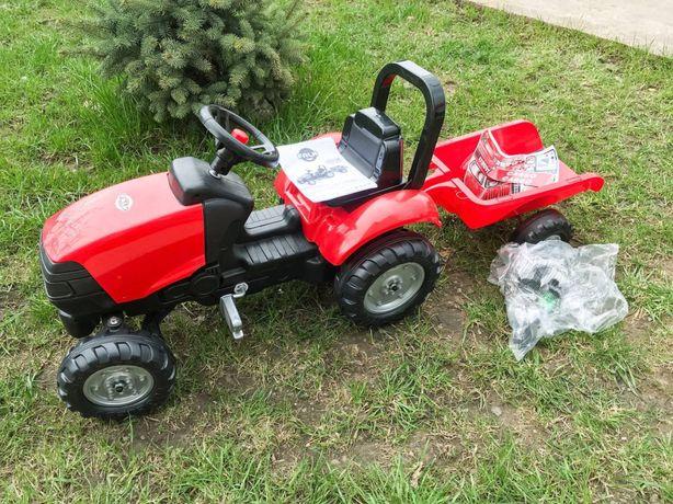 Педальний трактор Falk Garden Master з причепом. Модель 2058j