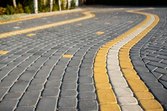 Бруківка та бетонні вироби: бетонні кільця,блоки,плоти, камінь піщаник