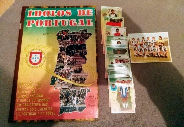 Cromos Ídolos de Portugal