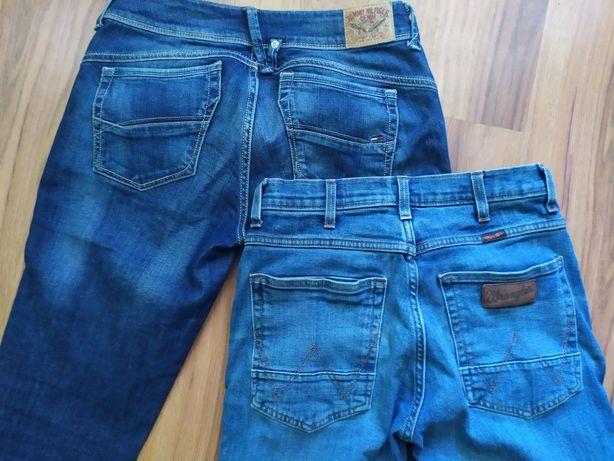 Hilfiger, wrangler джинсы