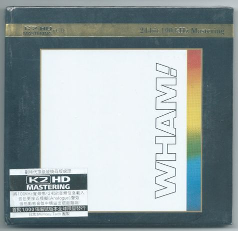 WHAM - The Final - K2HD Nowa Folia GEORGE MICHAEL