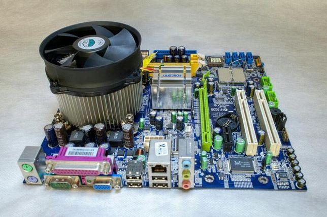 Материнские платы Intel 775 Asus Foxconn Asrock MSI из Европы ОПТ розн