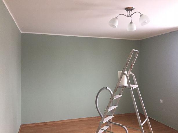 Malowanie ścian, sufitów, mieszkań, domów 8zł/m2