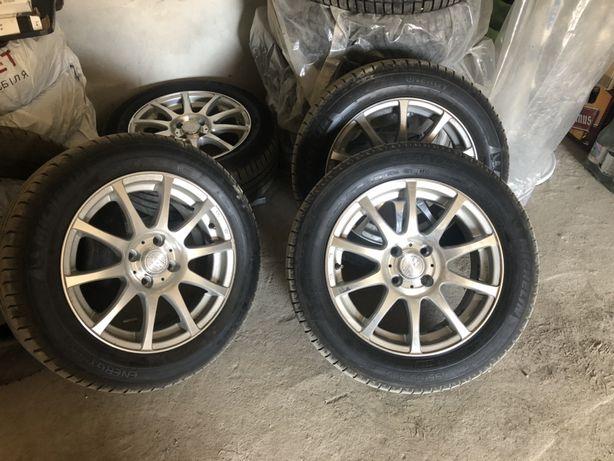 Літні шини Michelin Energy Saver 195/60 R15 з дисками ZW