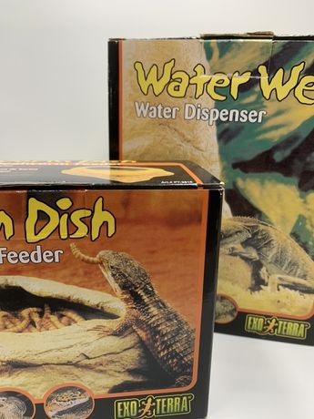 EXO TERRA Worm dish / Water Well