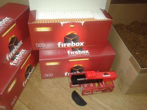 Гильзы для сигарет Firebox 500шт Лучшая цена. сигаретные гильзы гільзи