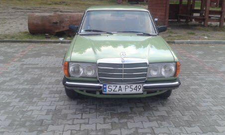 Mercedes w123 po renowacji