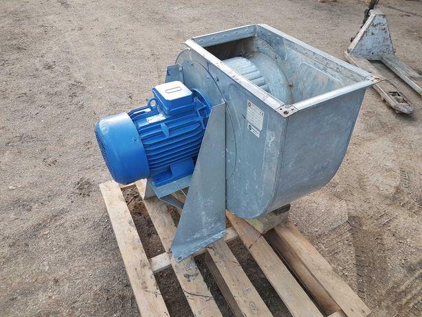 Wentylator promieniowy 4kW Turbina dmuchawa bin do przedmuchu wyciąg