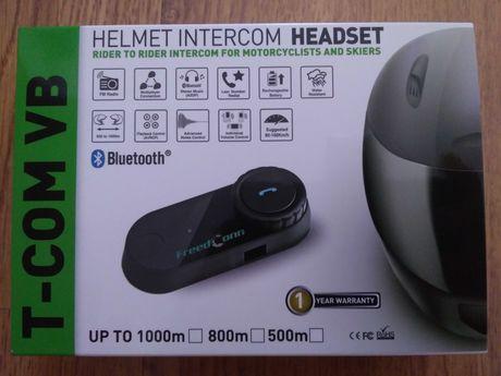 Auricular / intercomunicador Bluetooth C/RADIO, p/capacete/moto( NOVO