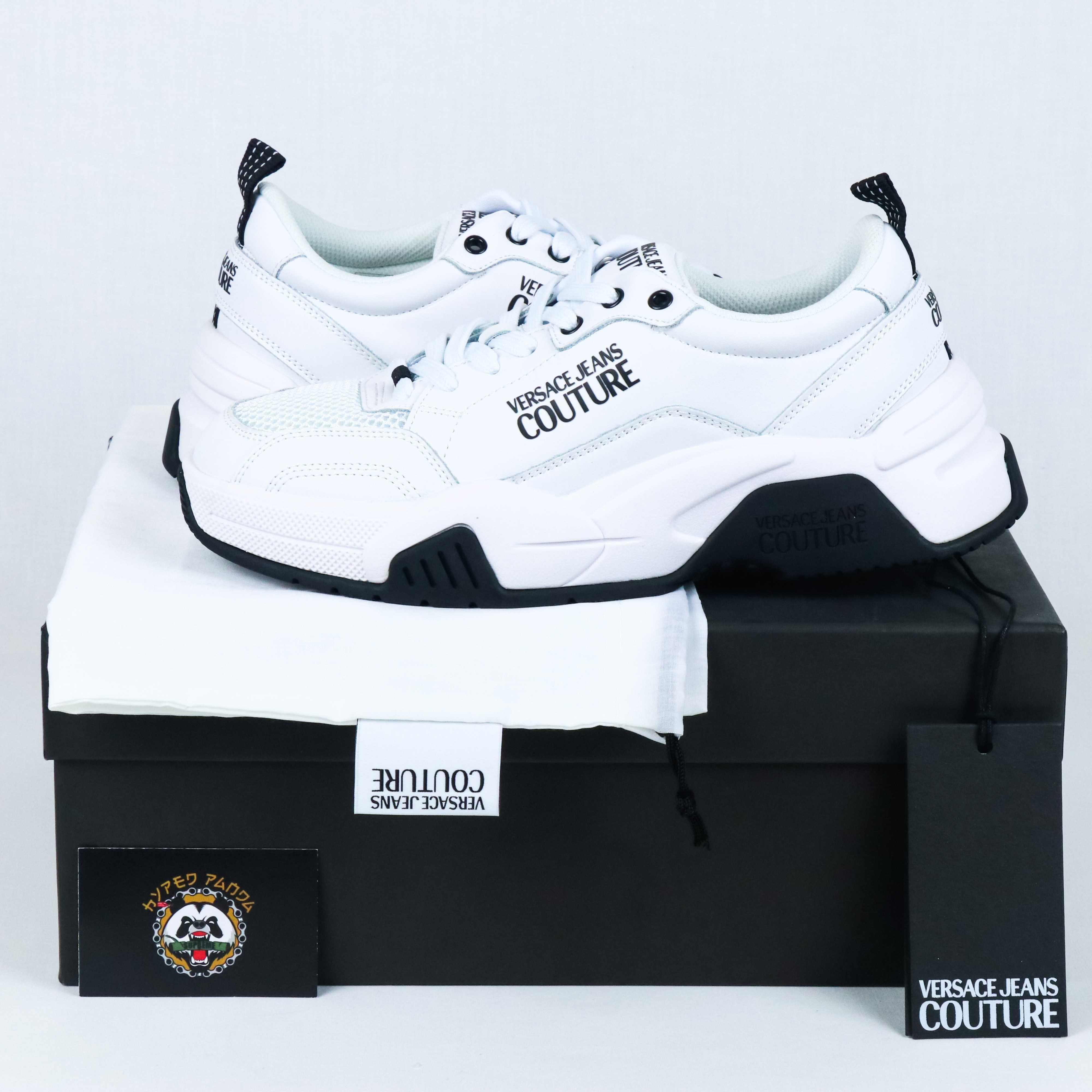 VERSACE Jeans Couture - White Linea Fondo - 42