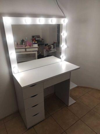Визажный стол макияжный с лампами