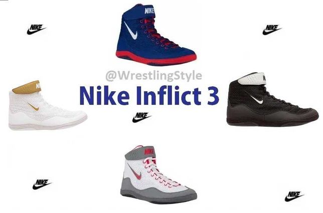 Борцовки, боксерки Nike Inflict 3, Оригинал! Купить борцовки Найк!