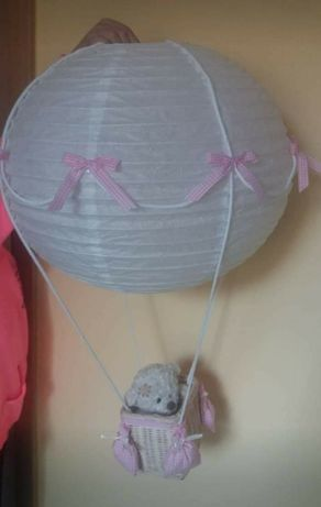 Lampa balon rozowa