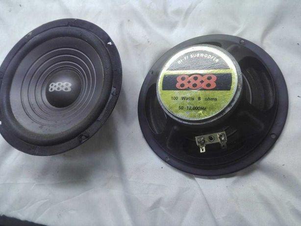 Głośniki niskotonowe  16,5cm