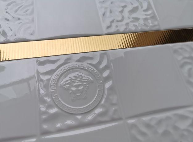 Płytki ścienne Versace Bianco lub Crema Aqua Dama 25x75