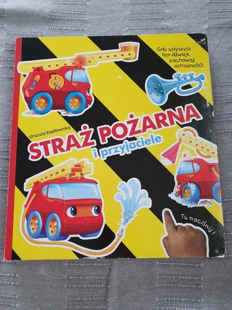 Książka z dźwiękiem Straż pożarna i przyjaciele Urszula Kozłowska