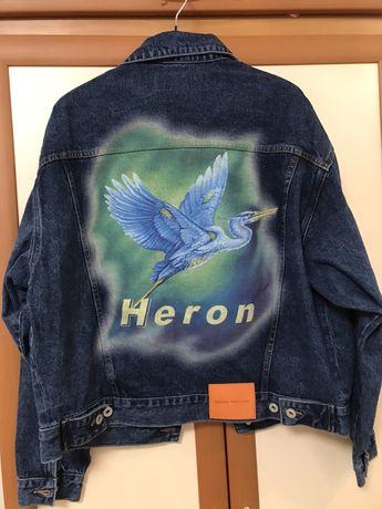 Heron preston off white джинсовка,худи,кофта
