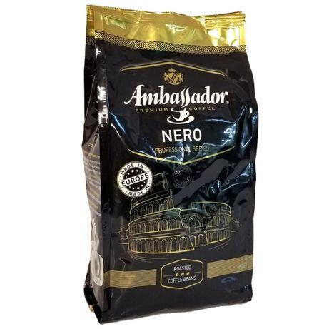 Кава в зернах Ambassador Nero зерно 1кг. Ambassador Сremer ,Chocolat