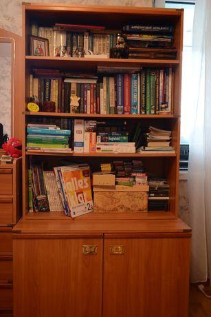 Книжный шкаф с тумбой Сафари