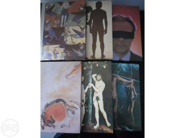 """Colecção de 6 livros """"Grandes enigmas do Homem"""""""