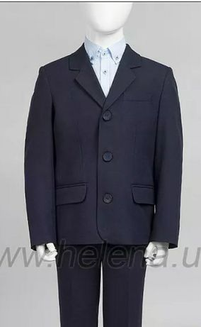 Пиджак школьный на мальчика 152