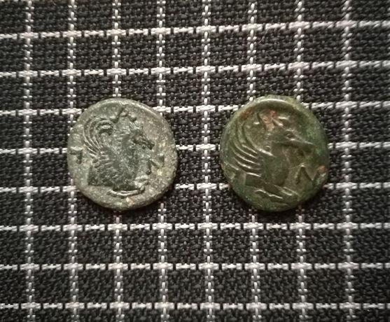 Античные монеты. Боспорского царства. Цена за одну. Обмен.