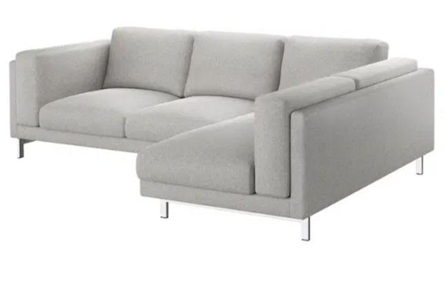 Vendo capa cinzenta para sofá nokeby Ikea