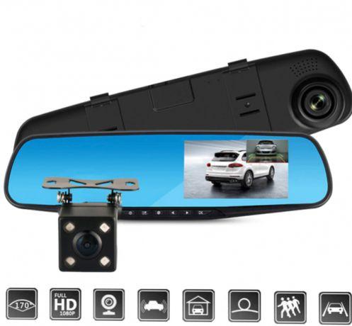 Видеорегистратор - зеркало заднего вида DVR L708 2 камеры