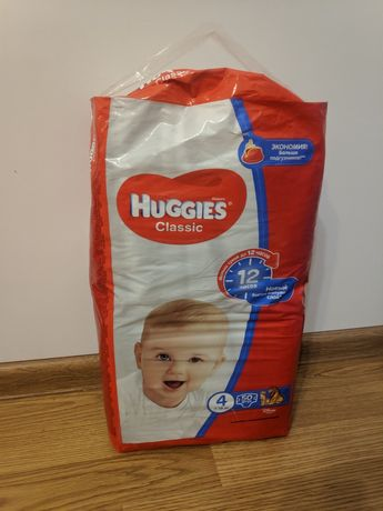 Памперси huggies classic #4, 36шт