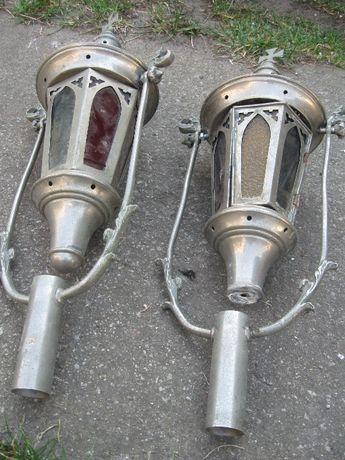 Latarnia dwie latarnie na świecę lampa 19w