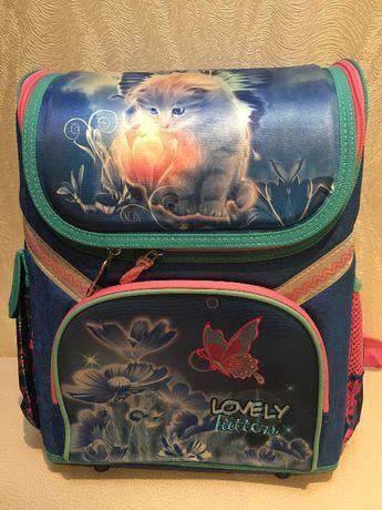 Распродажа! Детский каркасный школьный рюкзак. Новый
