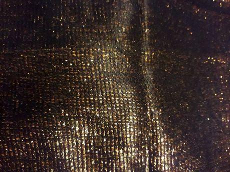 Ткань трикотажная нарядная с люрексом золотистым