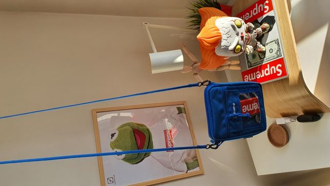 Utility pouch sholder BagSupreme Blue