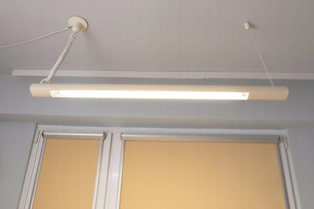 Lampa jarzeniowa sufitowa z przewodem sieciowym (dł. 122 cm)