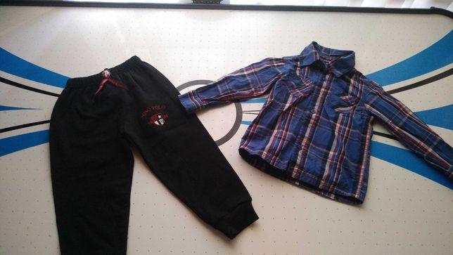 Штаны и рубашка на мальчика