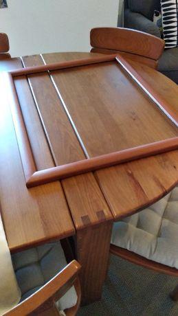 Moldura para tela em madeira