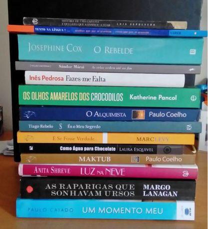 Livros vários - romances, etc