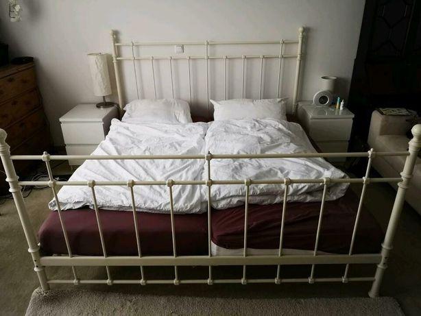 Metalowe łóżko 180/200