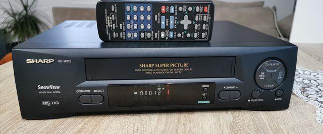 Magnetowid Sharp VC-M312 #Hi-Fi Stereo #Pilot Polecam