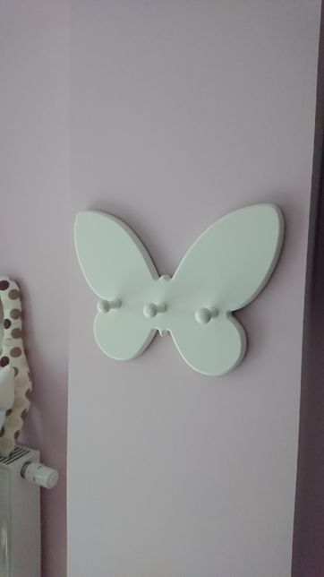 Wieszak, wieszaczek motyl Caramella