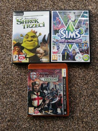 Gry na komputer Shrek Trzeci, Twierdza Krzyżowiec i dodatek