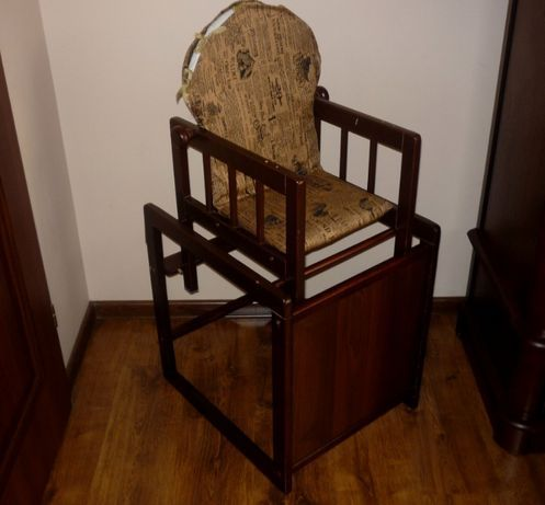 krzesełko stoliczek dla dziecka zdejmowany pokrowiec