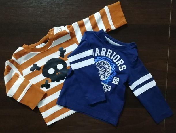 bluzeczki niemowlęce rozm.68