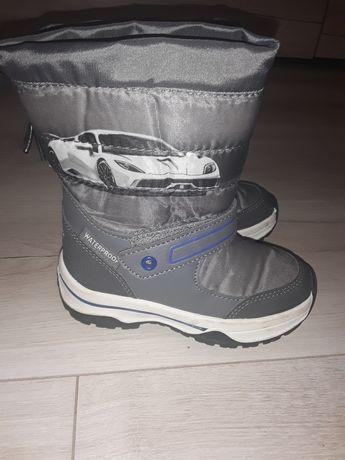 Buty dziecięce zimowe śniegowce 25 7.5
