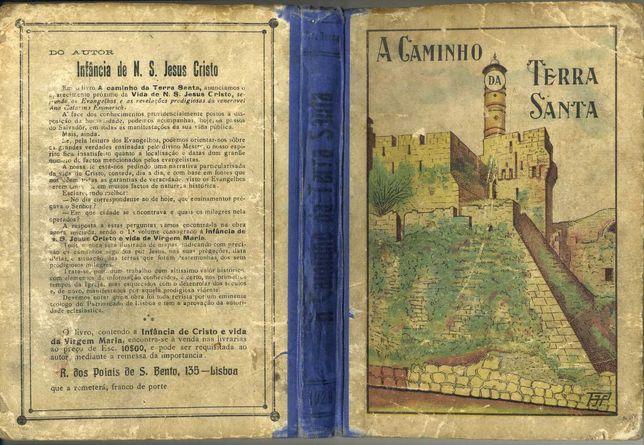 A caminho da Terra santa, J. Alves Terças (capa colorida)